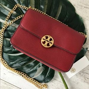 Tory Burch Chelsea Mini CrossBody Redstone NWT